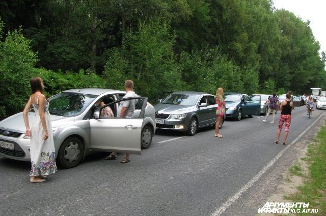 На Куршской косе участились случаи краж из автомобилей.