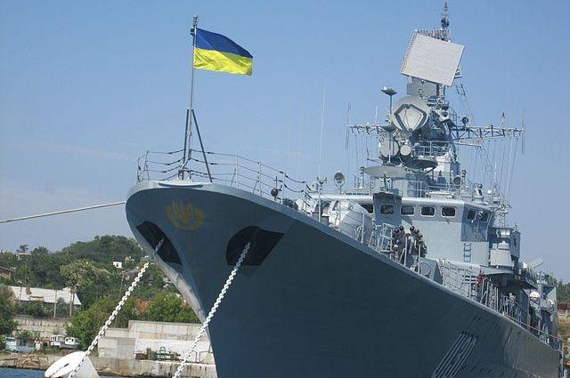 Флагман ВМС Украины«Гетман Сагайдачный»