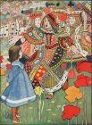 Дореволюционные русские издания переводов чаще всего сопровождались рисунками Чарльза Робинсона и Гарри Фернисса. Алиса, Червонный Король и Королева в исполнении Чарли Робинсона.