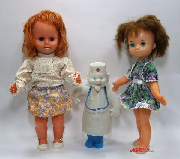 Кукла ГДР,доктор Айболит,кукла Катя