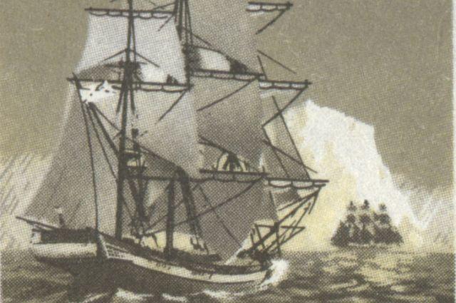 Корабли смогли выдержать суровое испытание льдами.