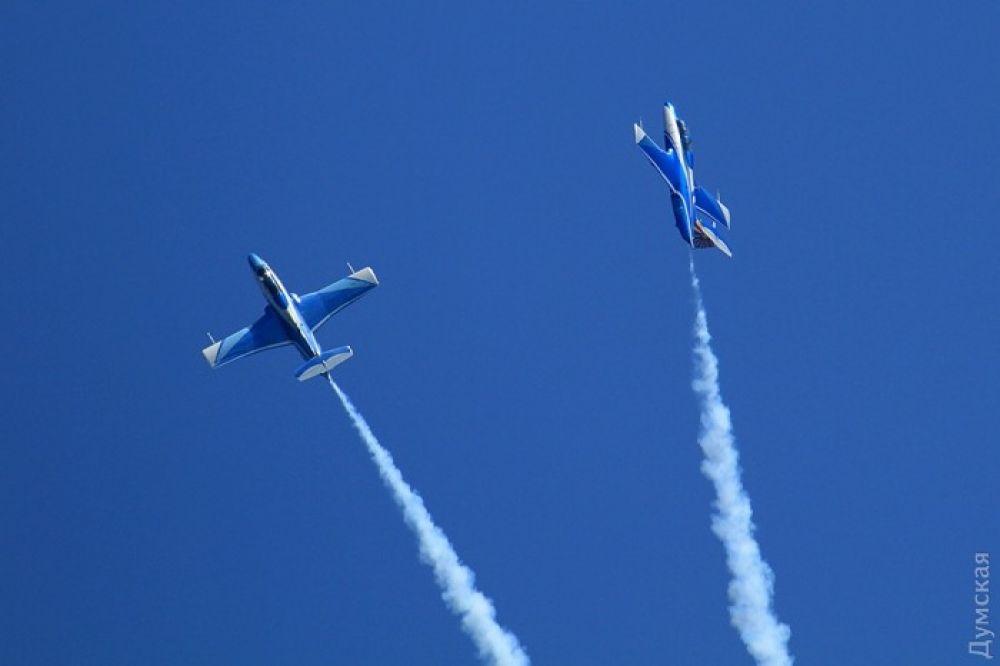 Авиация показала свое мастерство в пилотировании