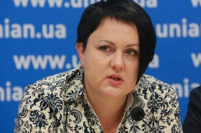 Томчук заявила опрекращении участия ввыборах вВРУ