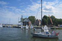 Калининградские яхтсмены заняли призовые места на регате в Польше.