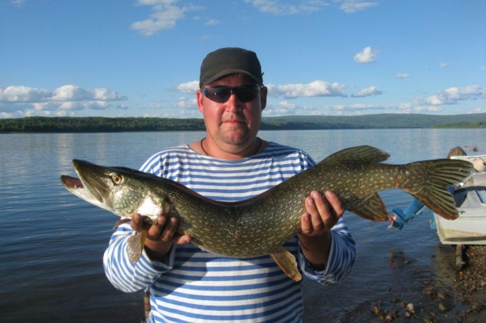 Рыбалка в Енисейском районе