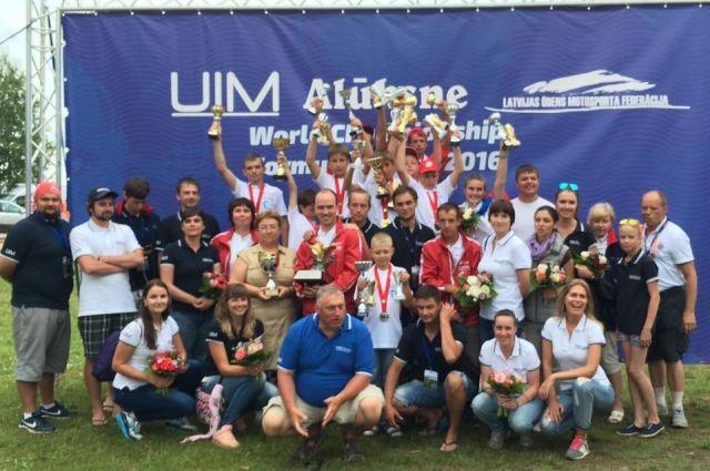 Коллекцию юного гонщика пополнила золотая медаль общекомандного зачета.