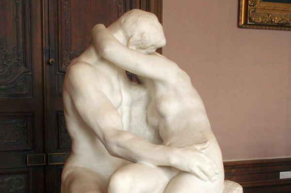 «Поцелуй» Огюста Родена.