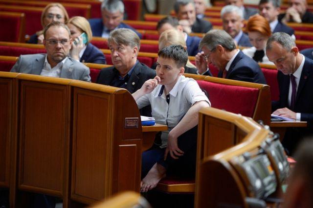 Савченко сообщила, что уже ведет переговоры слидерами ДНР иЛНР