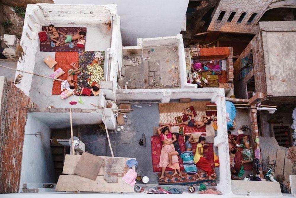 """Фото под названием """"Сны крыш"""" было сделано Yasmin Mund в Индии и заняло второе место в категории """"люди"""""""