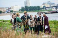 О Ермаке в Омске теперь будут напоминать не только исторические реконструкции, но и памятник.