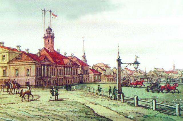 В первые годы после своего основания Петербург неоднократно страдал от пожаров.