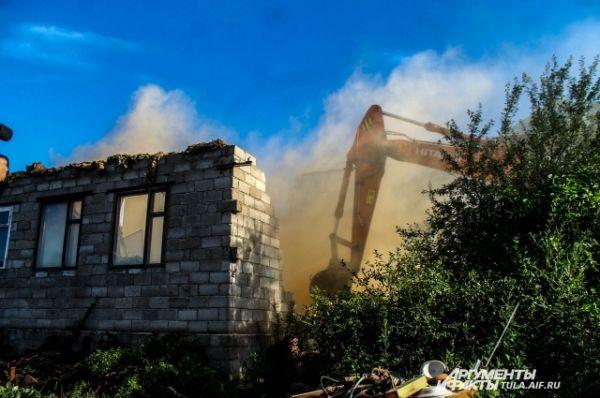 Всего с Плеханове снесут 118 домов