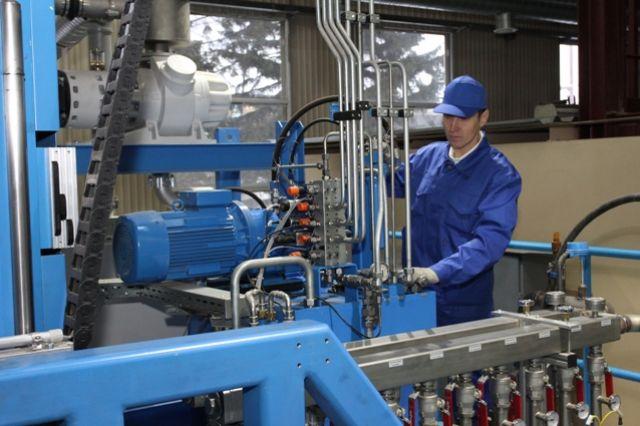 На заводе будут производить современные детали.