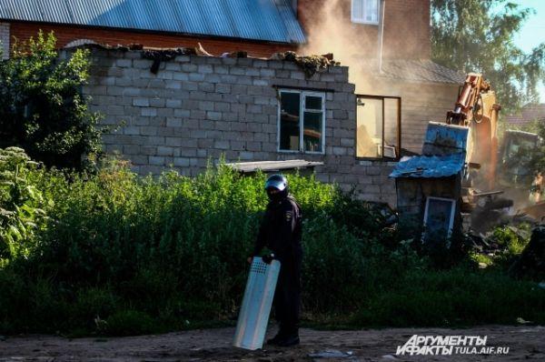 Сотрудники полиции дежурят в Плеханове каждую неделю