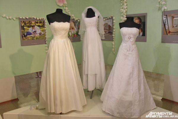 Современные модели свадебных платьев.