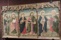 «Испанский алтарь» - триптих XV века, входивший в состав католического алтаря.