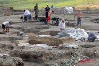 Так выглядит раскоп «Верхний город», где находился акрополь Фанагории.