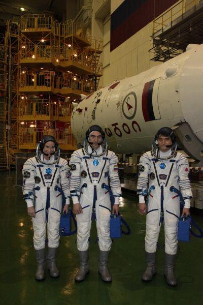 Основной экипаж первого корабля