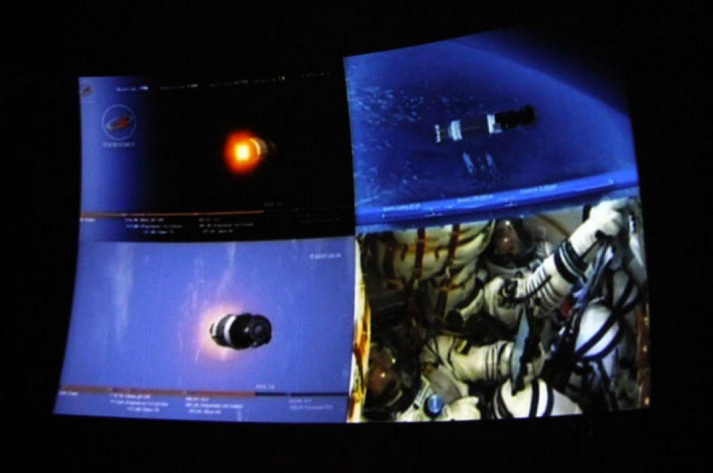 Выход на орбиту занял ровно 528 секунд.