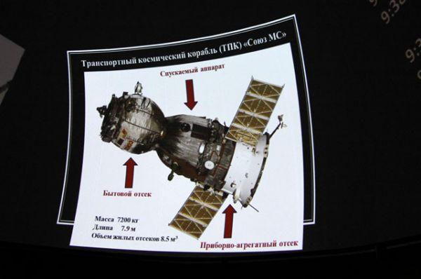До МКС в обновлённом корабле космонавты будут лететь двое суток - более длинную схему сближения и стыковки выбрали ради безопасности людей на борту, поскольку полёт испытательный.