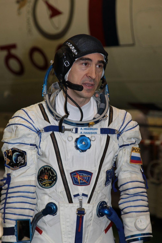 Иркутянин Анатолий Иванишин отправился на орбиту уже во второй раз.