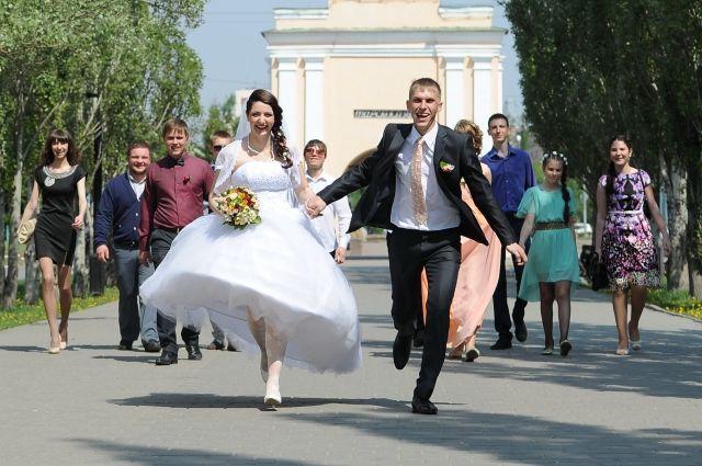 В России любят экстравагантные свадьбы