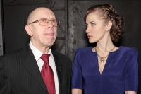 Художественный руководитель театра на Таганке Валерий Золотухин с супругой Ириной Линдт, 2012 год.