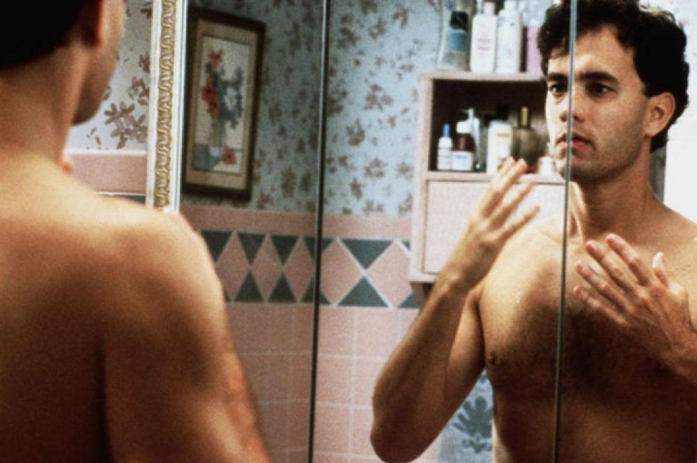 В 1988 году Том снялся в картине «Большой», где сыграл героя с телом мужчины и разумом ребёнка. Роль принесла ему «Золотой глобус» и первую номинацию на «Оскар».