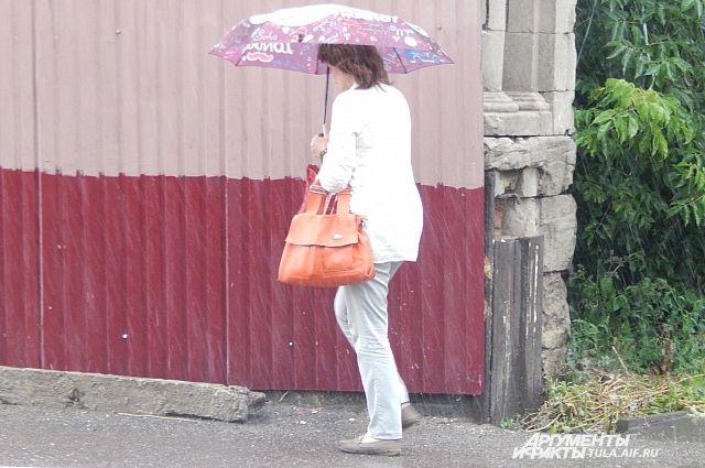 В городе пройдет дождь с грозами.