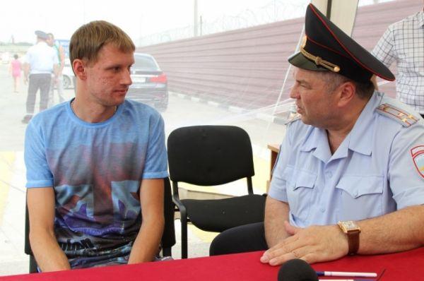 Выездной прием начальник донского главка провел  совместно с временно исполняющим обязанности начальника областного  УГИБДД полковником полиции Игорем Ключкиным.