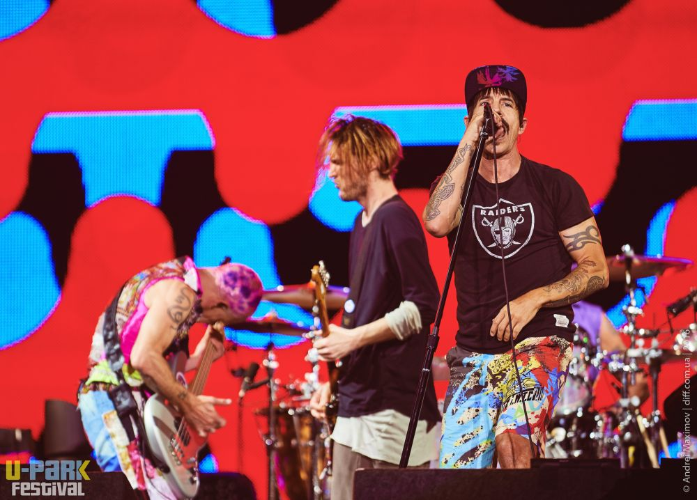 Red Hot Chili Peppers на сцене