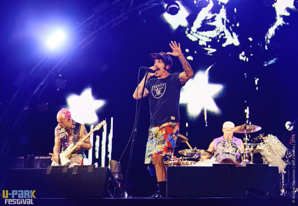 Выступление Red Hot Chili Peppers