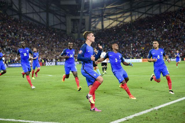 Сборная Франции по футболу считается явным фаворитом финального матча.