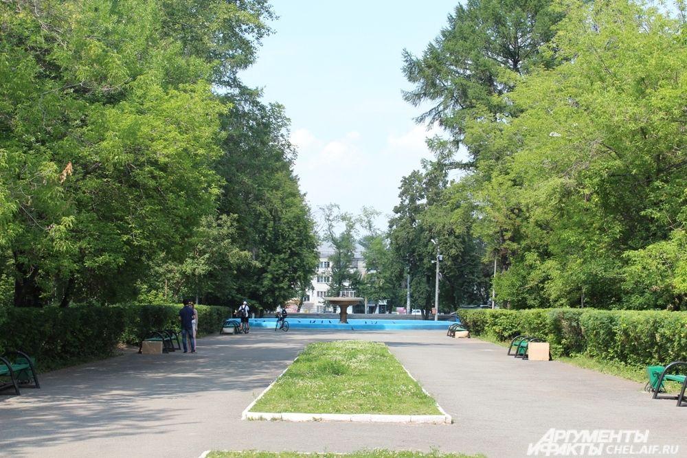 Парк им. В.В. Терешковой тихое и уютное место, чтобы отдохнуть от городской суеты.