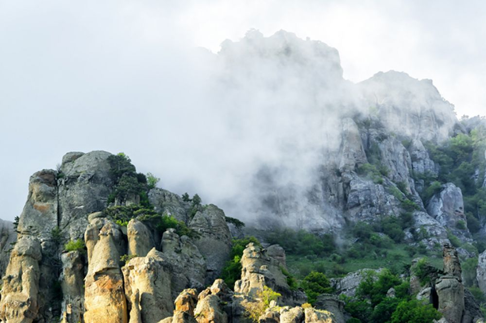 Железные Острова – Долина привидений в Крыму.