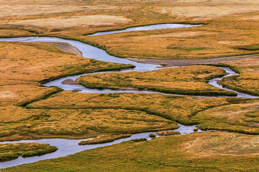 Речные Земли – плоскогорье Укок на Алтае.