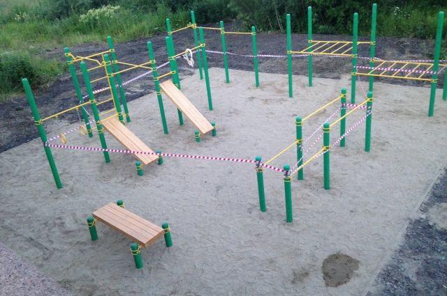 В рамках работ по благоустройству набережной Енисея в Красноярске будет открыта бесплатная уличная площадка для кросс-фита.