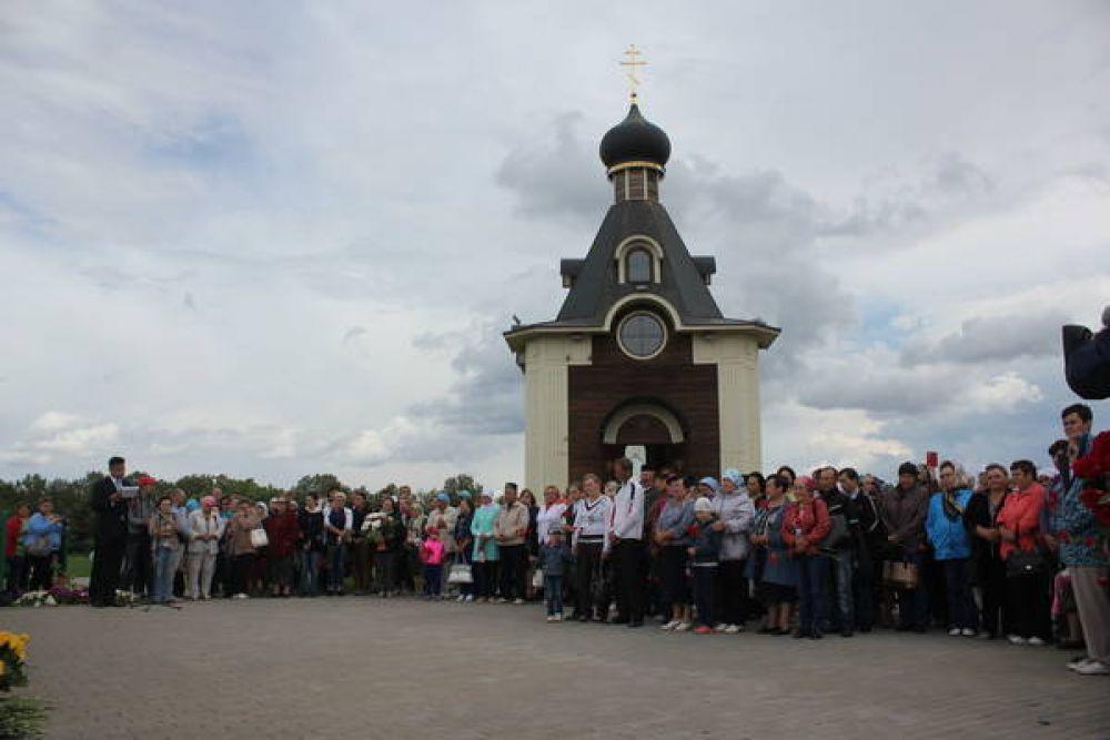 В Сюкеево выстроен мемориальный комплекс