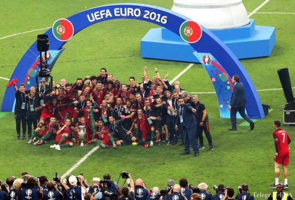 1 победа в основное время и 72 минуты лидирования - Португалия чемпион!
