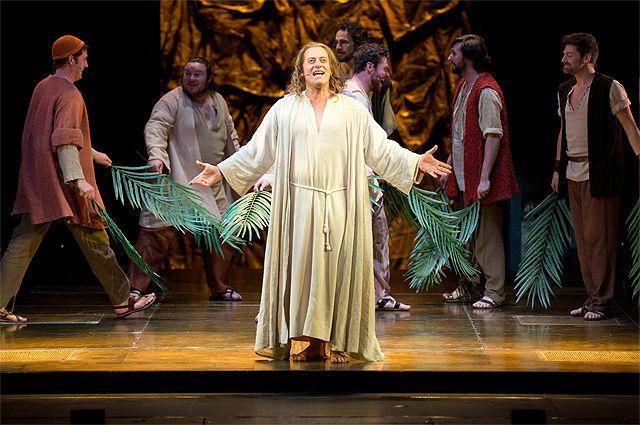 Сцена из спектакля «Иисус Христос — суперзвезда».