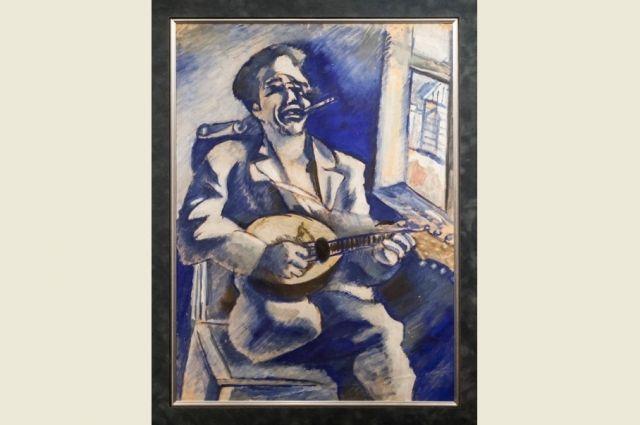 Интерес к творчеству Шагала может начаться с одной картины.