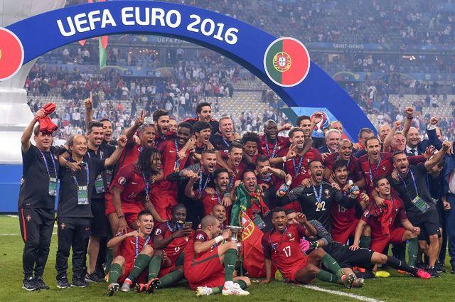 Сборная Португалии на Евро-2016.