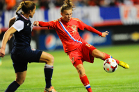 Женская сборная по  футболу спорта успешно выступает на Чемпионате Европы.