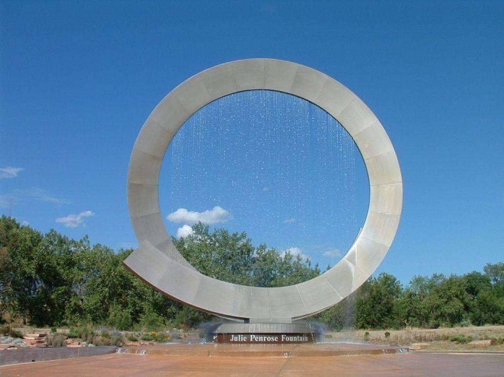 Американский фонтан Джули Пенроуз (Непрерывный) в Колорадо-Спрингс