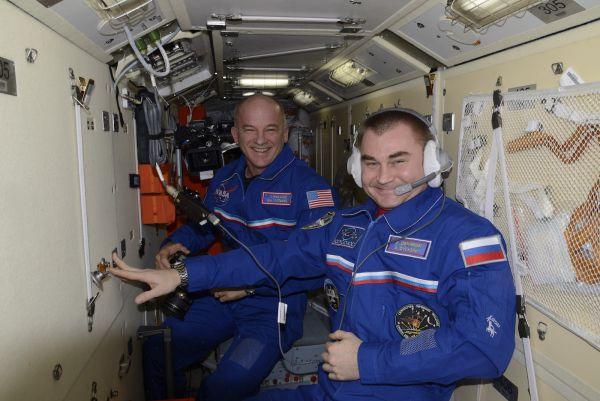 Экипаж прибыл на пилотируемом корабле «Союз МС».