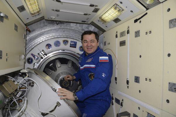Космонавт Олег Скрипочка.