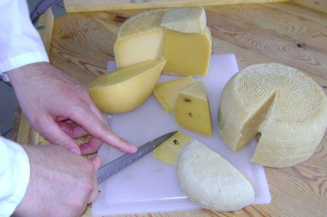 Этот сыр Андреа Киузоли делает своими руками из донского молока.