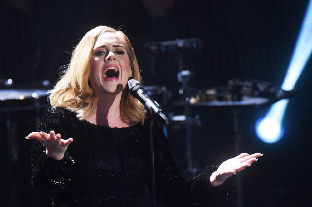 На девятом расположилась певица Адель — $80,5 млн.
