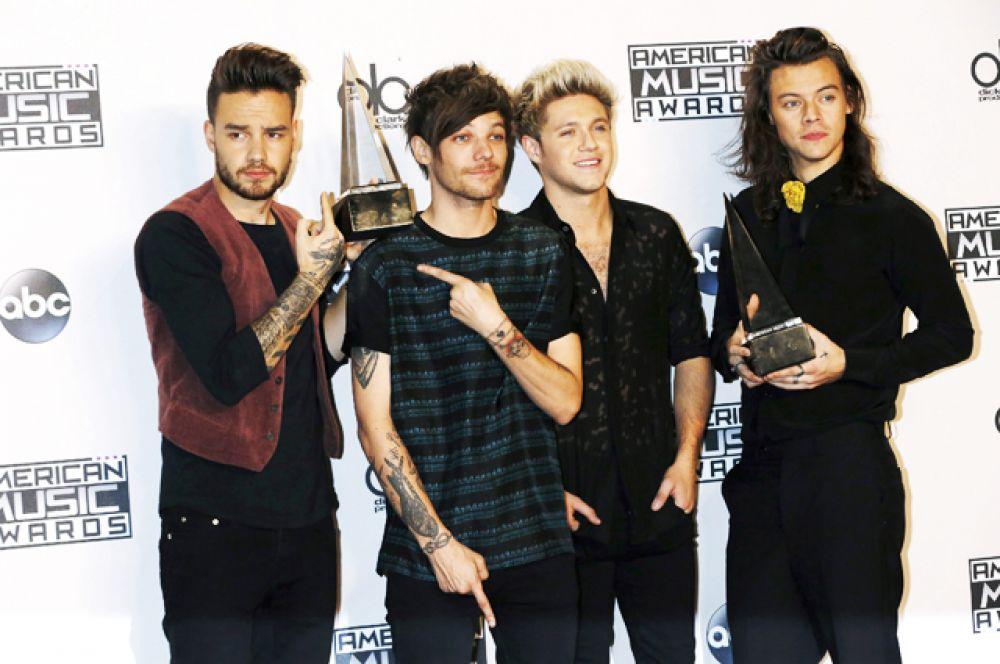 Второе место заняла группа One Direction — $110 млн.