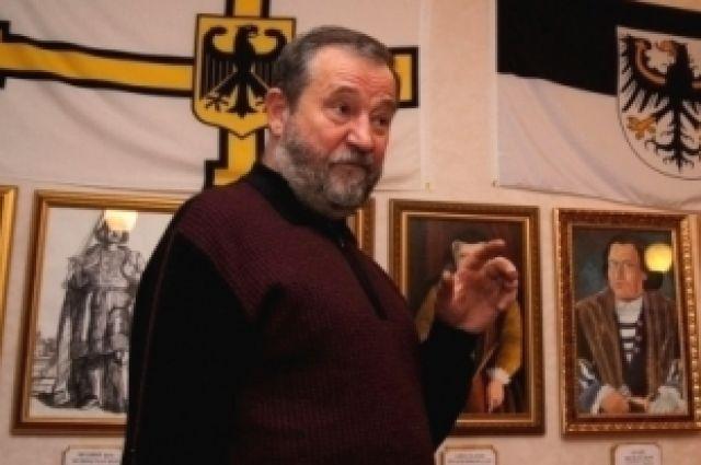 Скончался директор краеведческого музея «Замок Вальдау» Андрей Баринов.